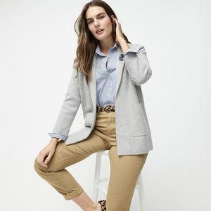 J. Crew Sophie open-front sweater blazer